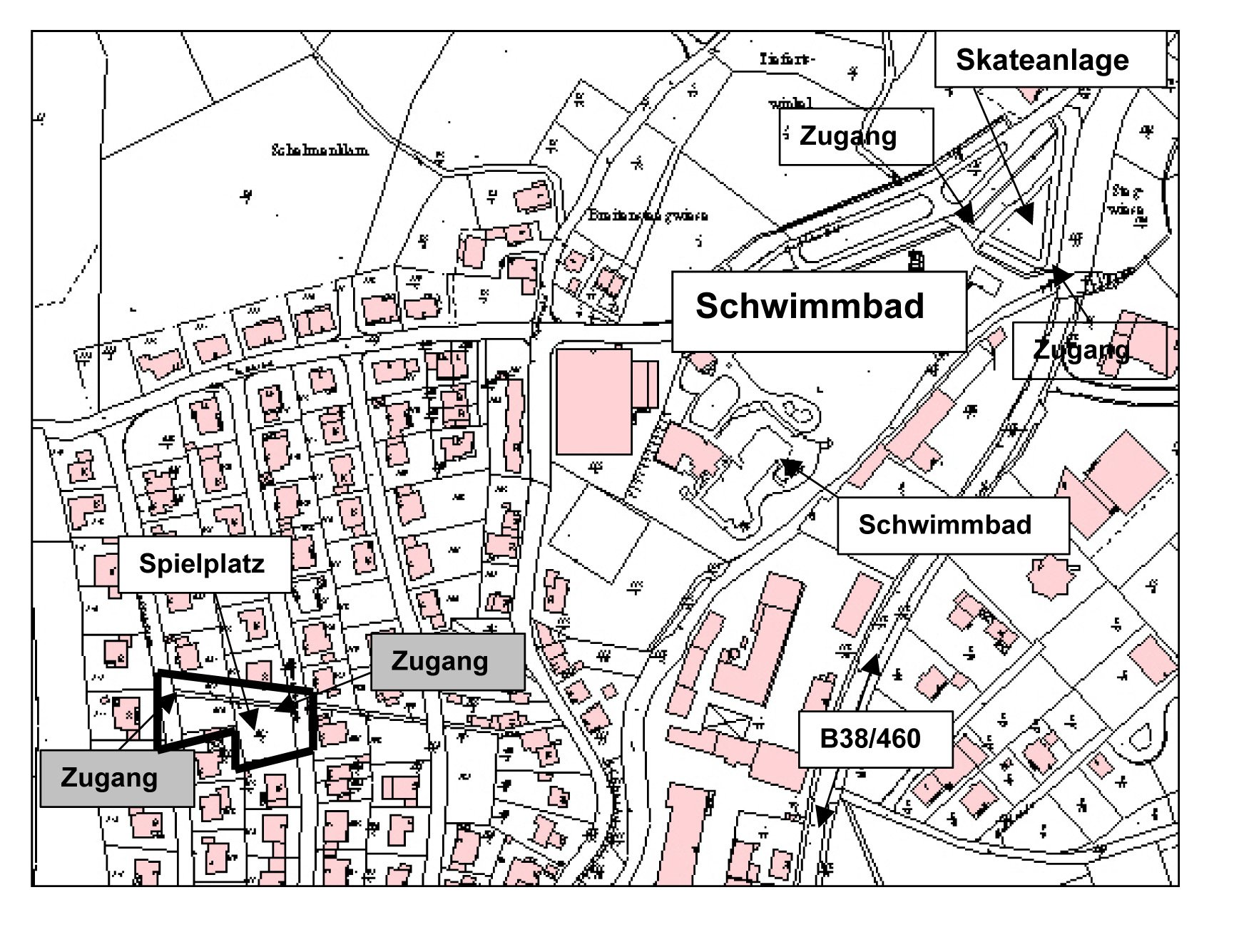 Fürth Robert-Koch-Straße 1 Lageplan.jpg