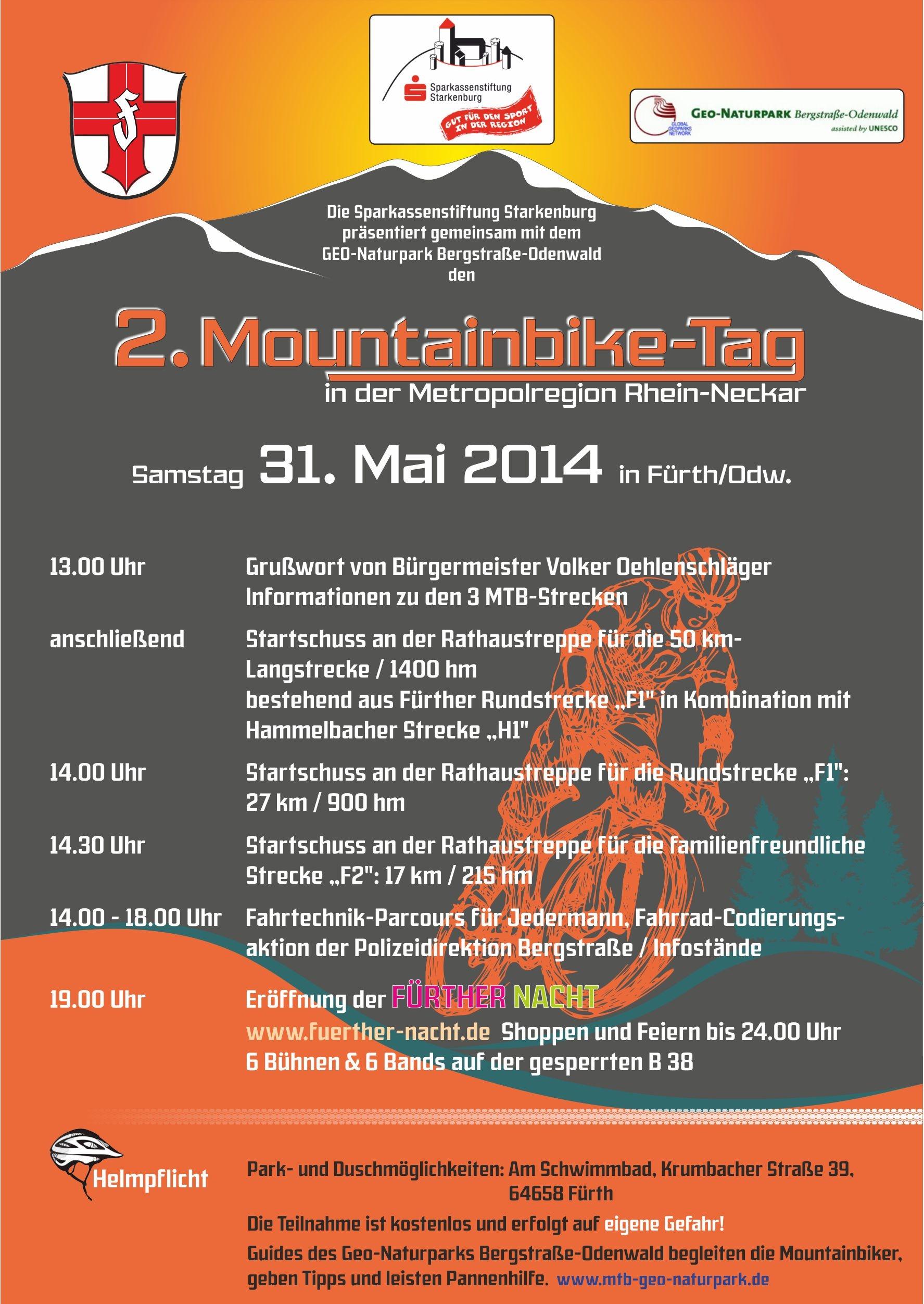 Flyer Mountainbike-Tag 2014
